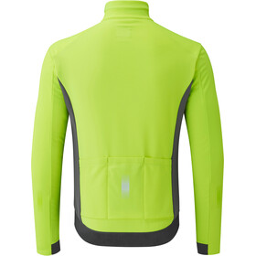 Shimano Wind Maillot à manches longues Homme, neon yellow